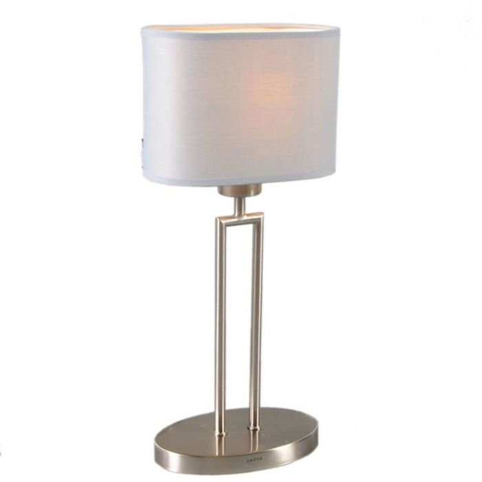 Table-Lamp-Zadar-Steel-with-Oval-Grey-Shade
