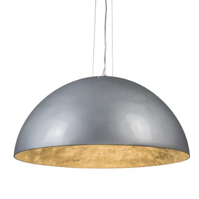 Pendant-Lamp-Magna-Glossy-70cm-Silver-with-silver