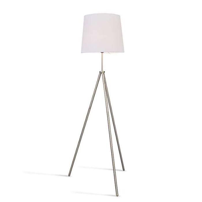 Tripod-Floor-Lamp-steel-,-white-lampshade.