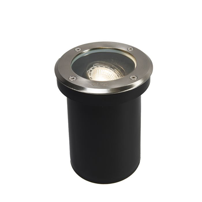 Modern-outdoor-ground-spot-stainless-steel-IP65---Delux