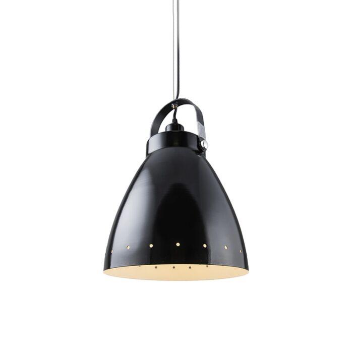 Scandinavian-hanging-lamp-black-tiltable---Rytel