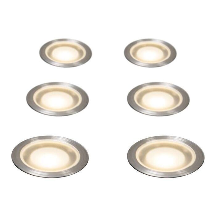 Set-of-6-Recessed-Spot-Lights-Guard-IP67-WW