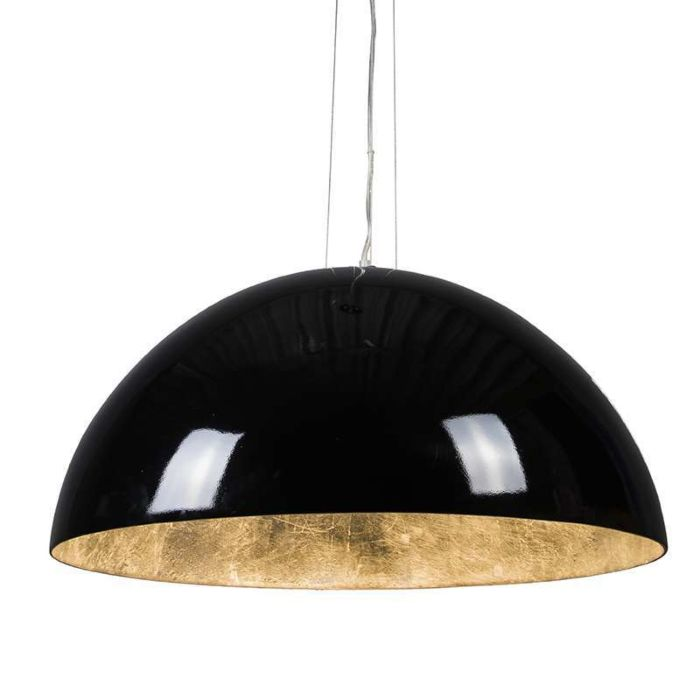 Pendant-Lamp-Magna-Glossy-70cm-Black-and-silver
