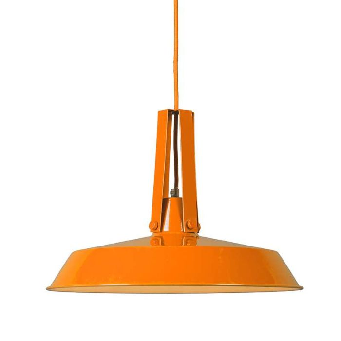 Living-Pendant-Lamp-40cm-Orange