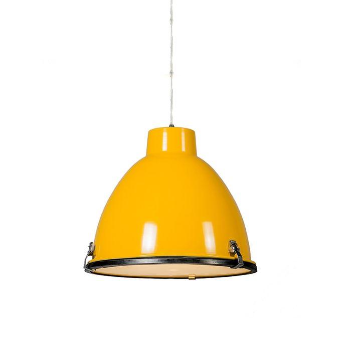 Anteros-38-Pendant-light-in-Yellow