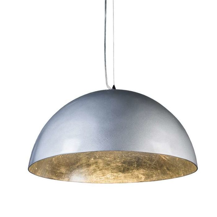 Pendant-Lamp-Magna-Glossy-55cm-Silver-with-Silver