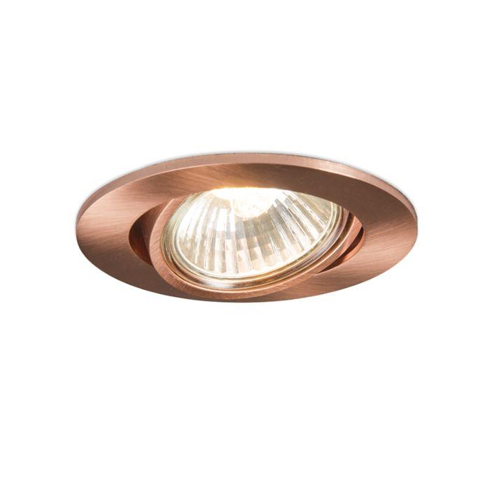 Recessed-Spotlight-Copper---Cisco