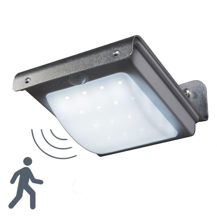 Wall Lamp Solaris Aluminium With Sensor