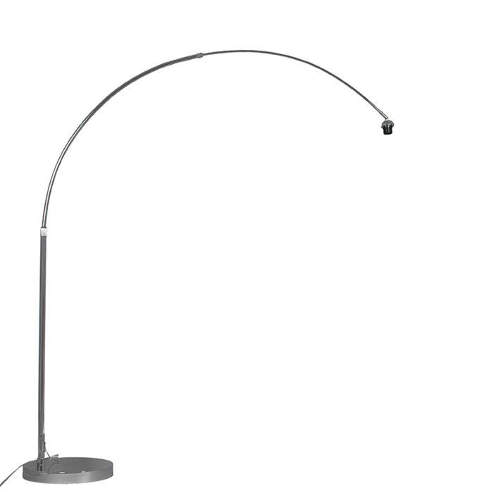 Modern Arc Lamp Chrome Adjule