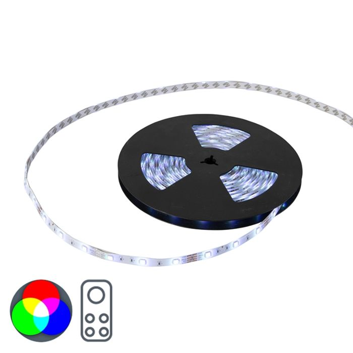 Flexible-LED-strip-10-meters-multicolor-RGB