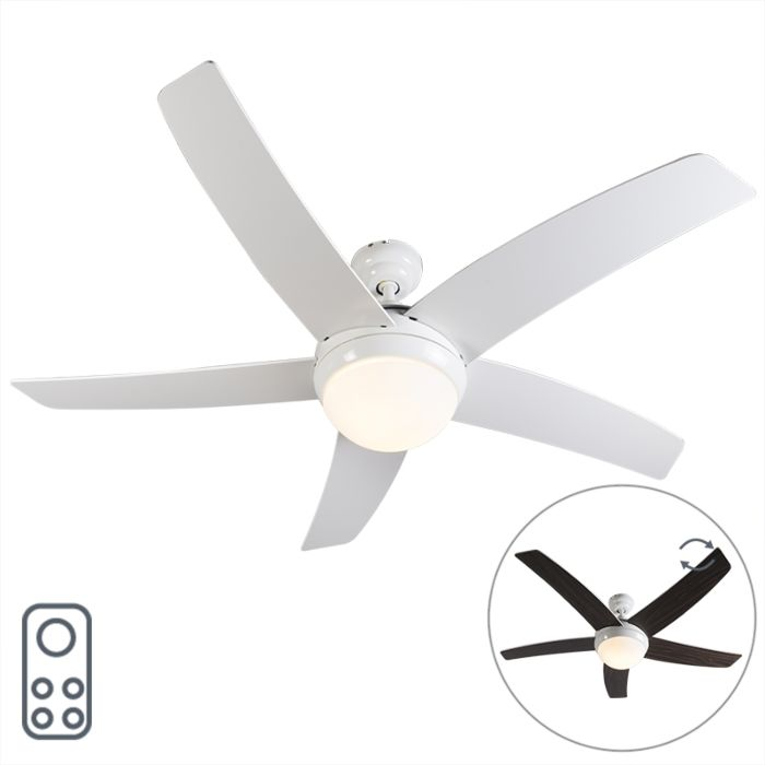 Ceiling-fan-white-with-remote-control---Cool-52