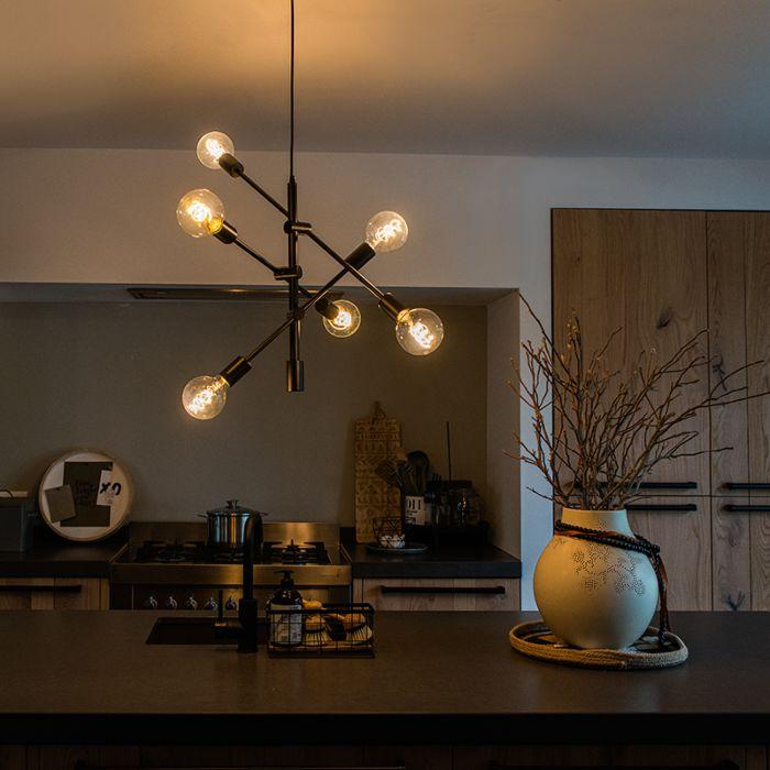 Industrial-hanging-lamp-black-6-lights---Sydney