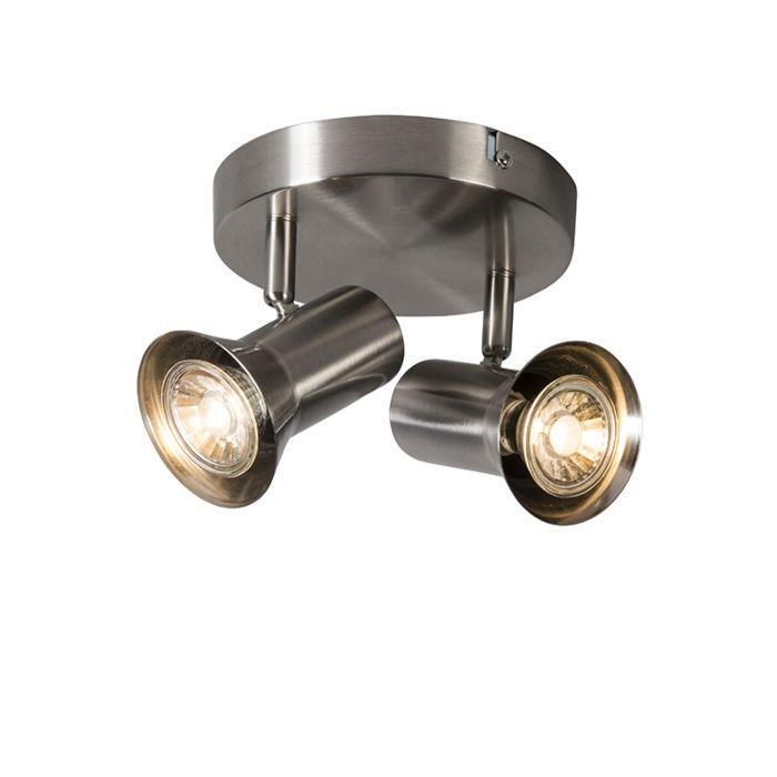 Ceiling-spot-steel-swivel-and-tiltable-round---Karin-2