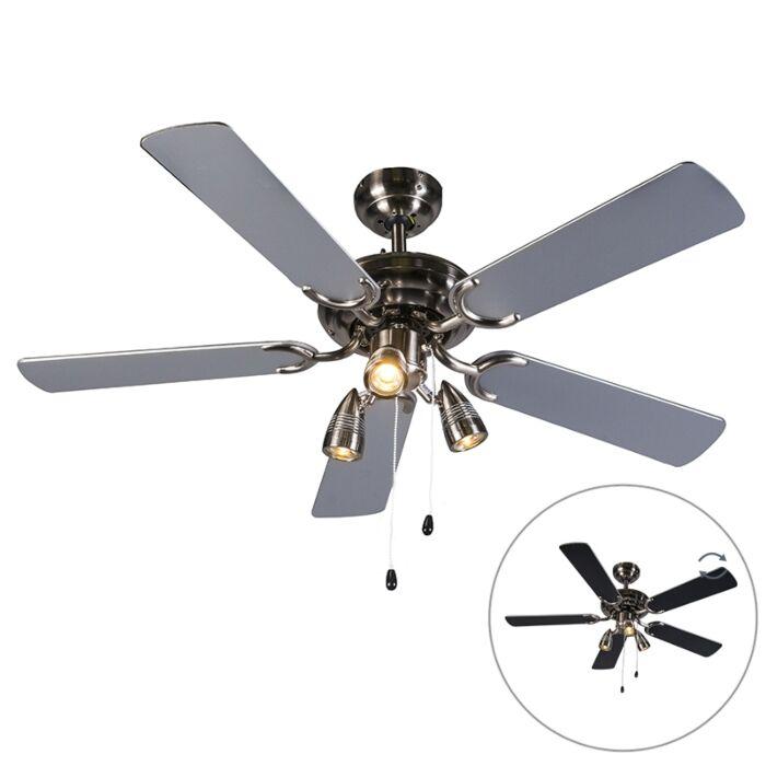 Ceiling Fan Gray Mistral 42