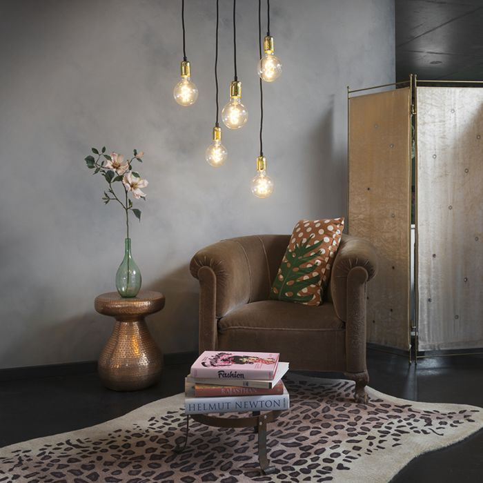 Modern-hanging-lamp-gold---Cava-5