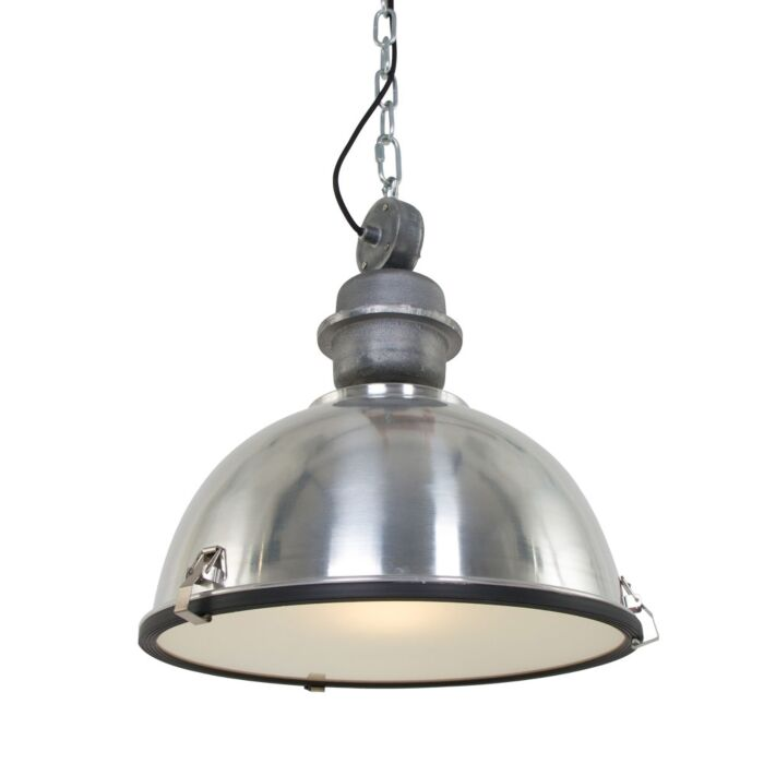 Industrial-hanging-lamp-aluminum-with-steel---Gospodin