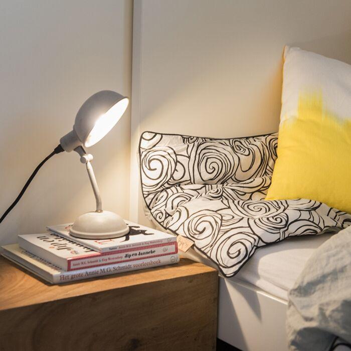 Rural-table-lamp-gray-tiltable---Grabe