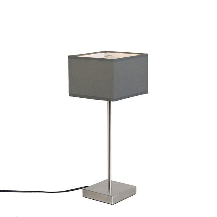 Modern-table-lamp-gray---VT-1