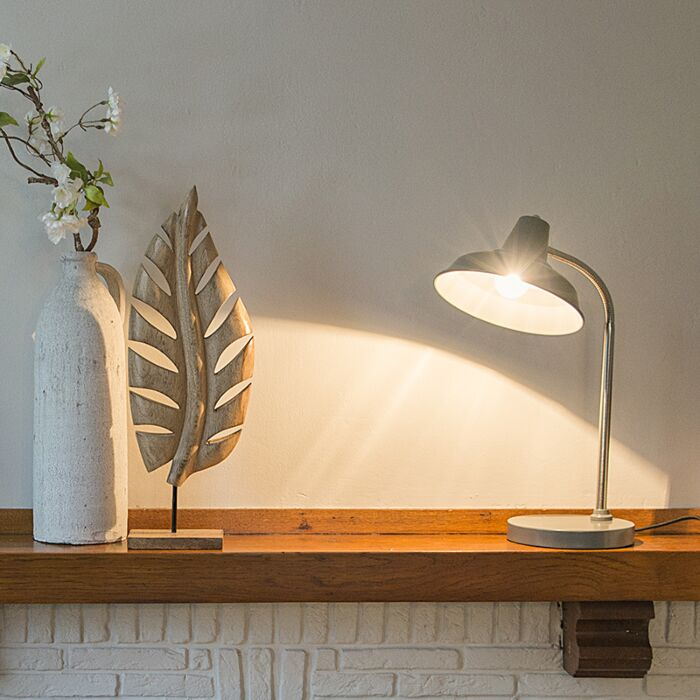 Industrial-table-lamp-gray-adjustable---Pixa
