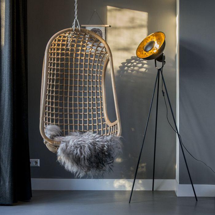 Modern-floor-lamp-black-with-gold---Magna-Basic-25