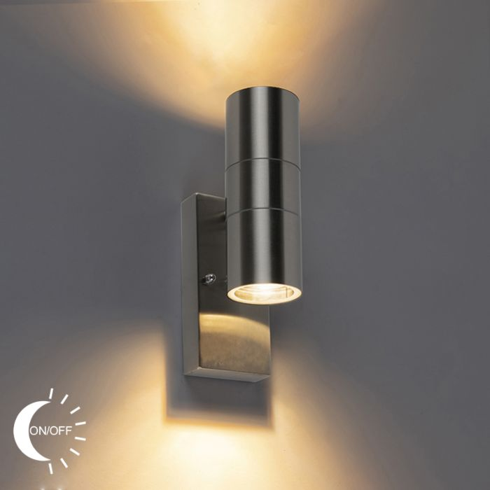 Outdoor Wall Lamp With Twilight Switch