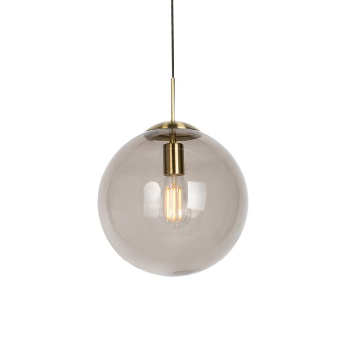 Modern-Pendant-Lamp-Brass-with-Smoke-Shade---Ball-30