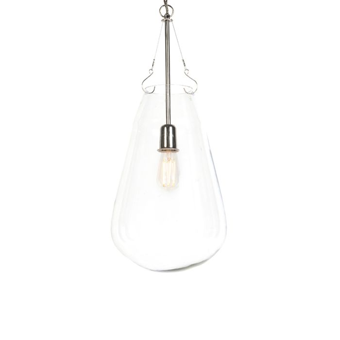 Modern-Pendant-Lamp-Glass-with-Nickel---Sikka