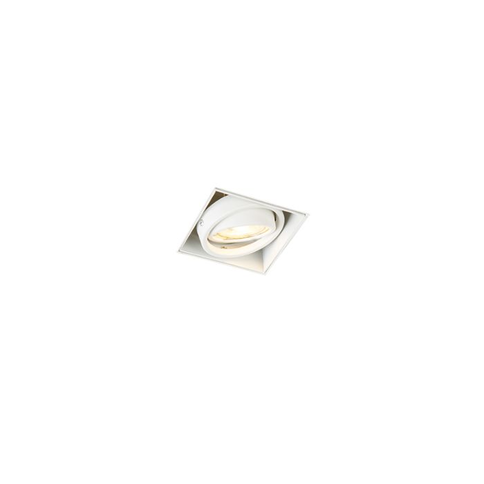 Recessed-spot-white-swivel-and-tiltable---Oneon-1-Trimless