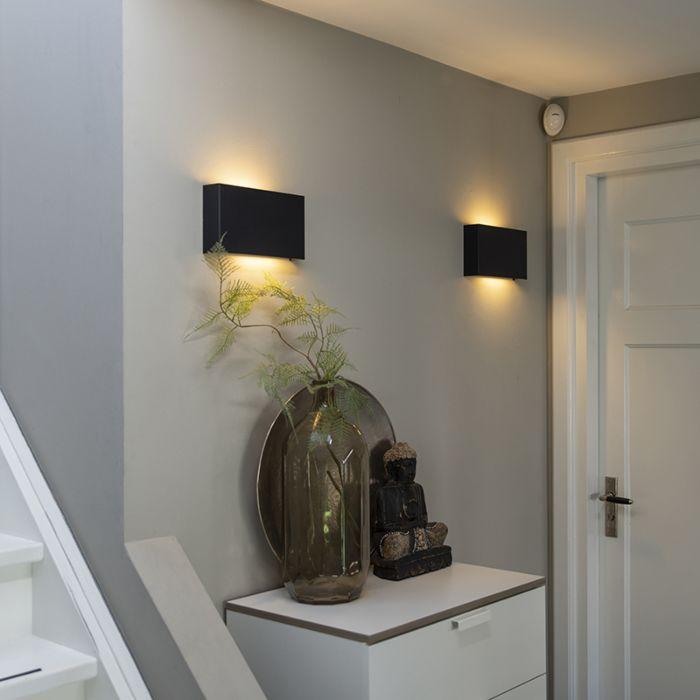 Modern-wall-lamp-black---Otan