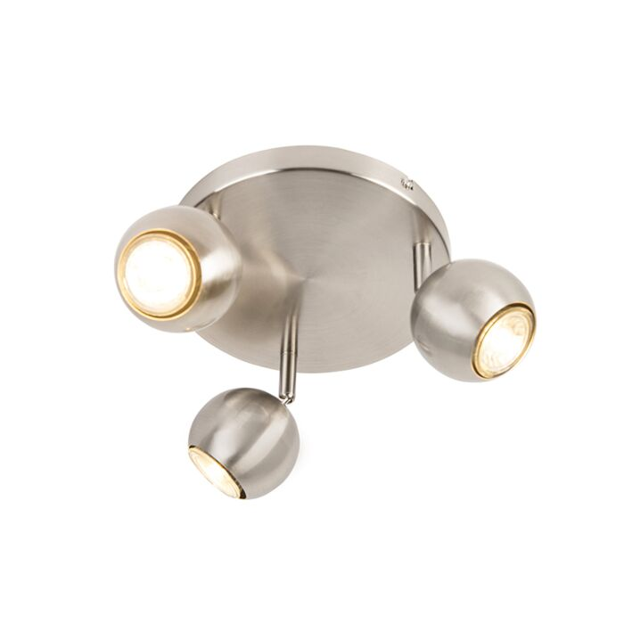 Retro-round-spot-steel-with-3-light-ceiling-plate---Gissi