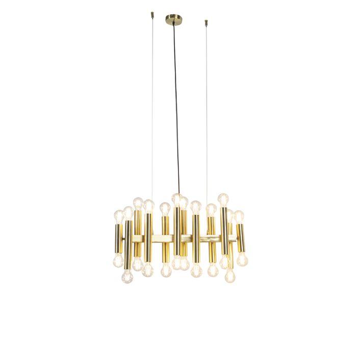 Vintage-hanging-lamp-gold-24-lights---Facil
