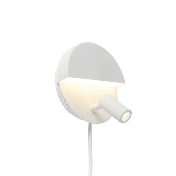 Design-wall-lamp-white-incl.-LED---Marion