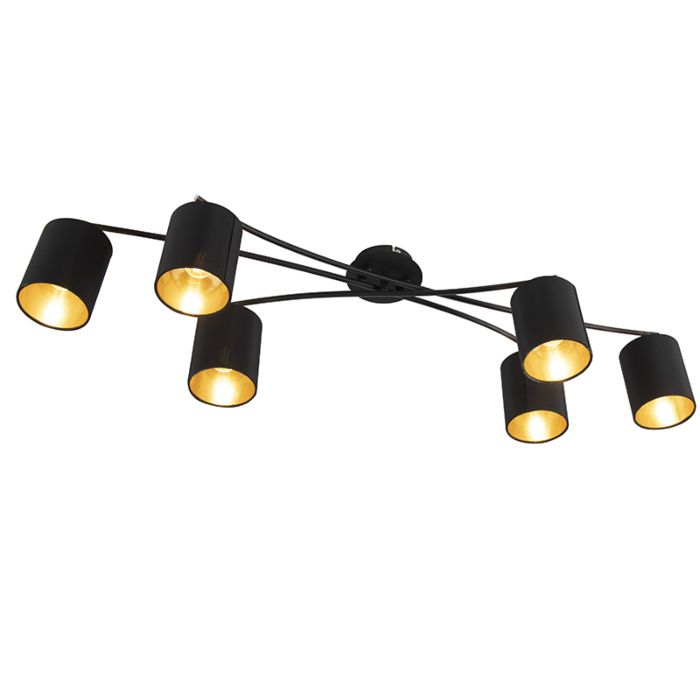 Modern-Ceiling-Lamp-6-Black---Lofty