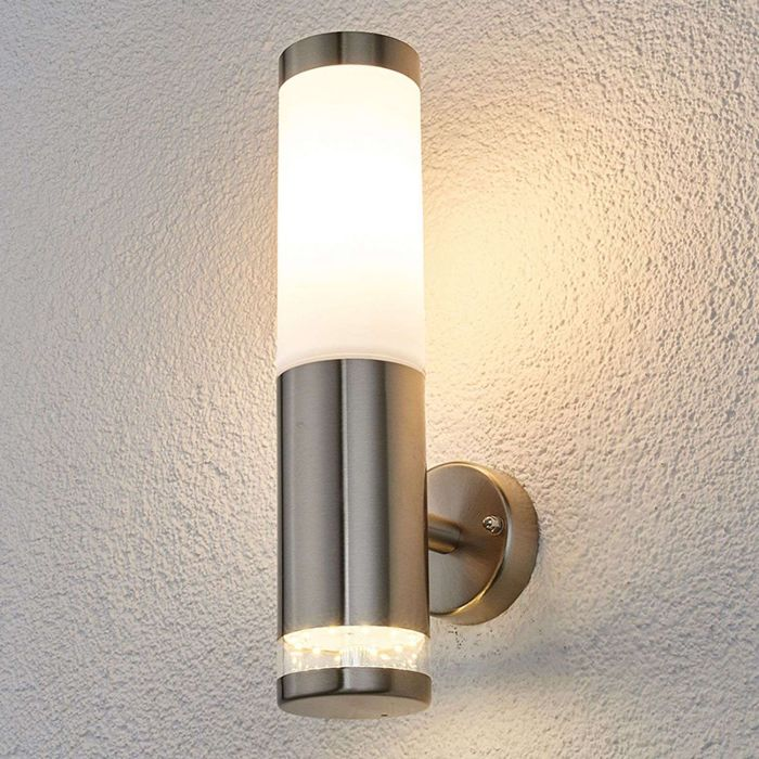 Modern Round Outdoor Lamp Stainless