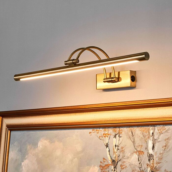 Classic-wall-lamp-bronze-painting-lighting-incl.-LED---Vincenza