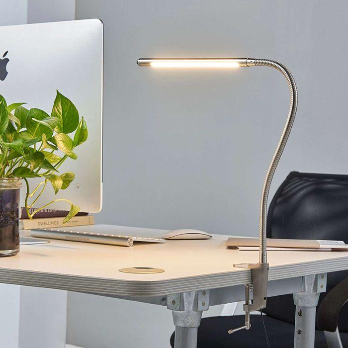 Design-desk-lamp-aluminum-with-clamp-incl.-LED---Lionard