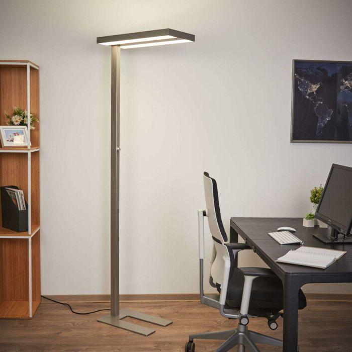 Modern Floor Lamp Aluminum Incl Led