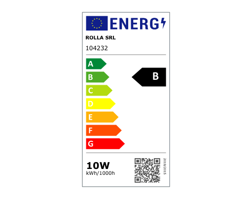 Energy lable