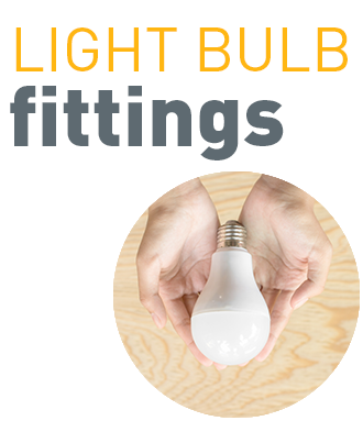 Light bulb fittings