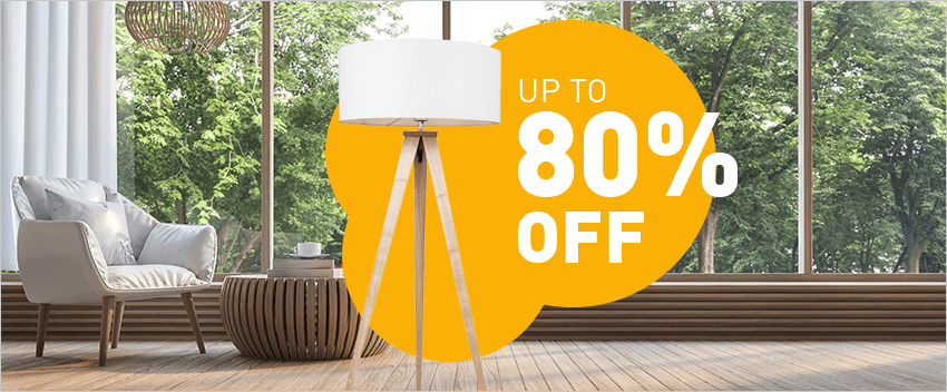 Up to 80% discount!