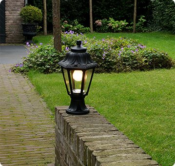 Lampandlight home Outdoor lighting banner