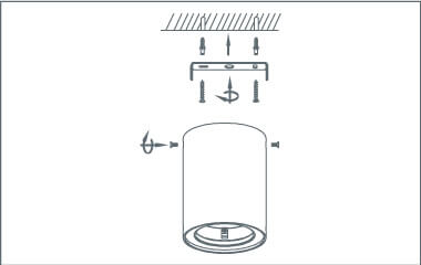Step 4. Attach the pendant lamp