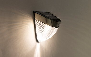 How does one install solar garden lighting?